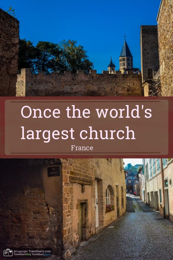 Once the world's largest church – France