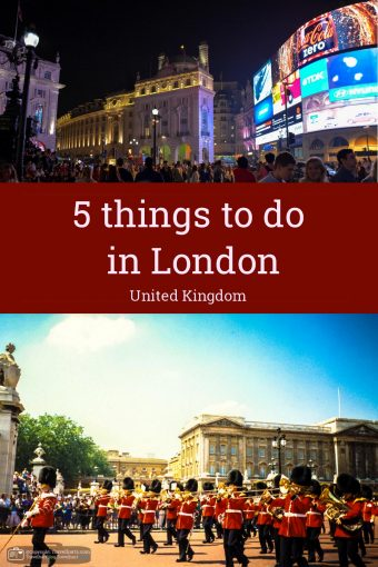 5 things to do in London – UK