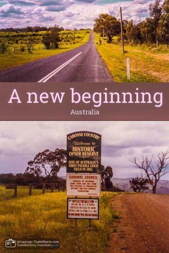 A new beginning – Australia