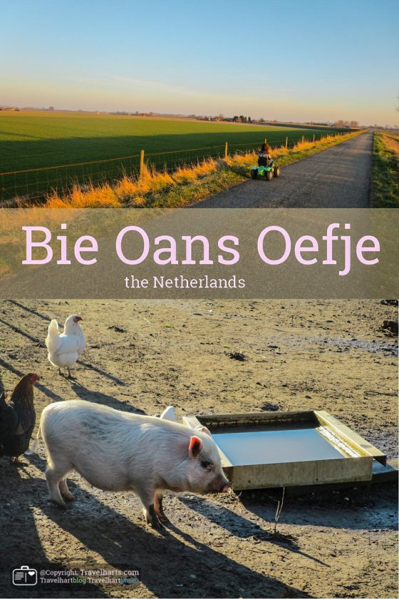 Bie oans oefje – the Netherlands